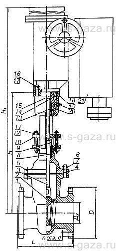 Hawle a является первой в мире упруго-запирающейся клиновой задвижкой в монолитном корпусе