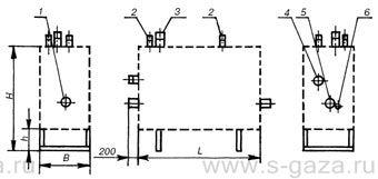 Газорегуляторные установки* ГРУ-13-1Н(В)-У1, ГРУ-15-1Н(В)-У1, ГРУ-16-1Н(В)-У1